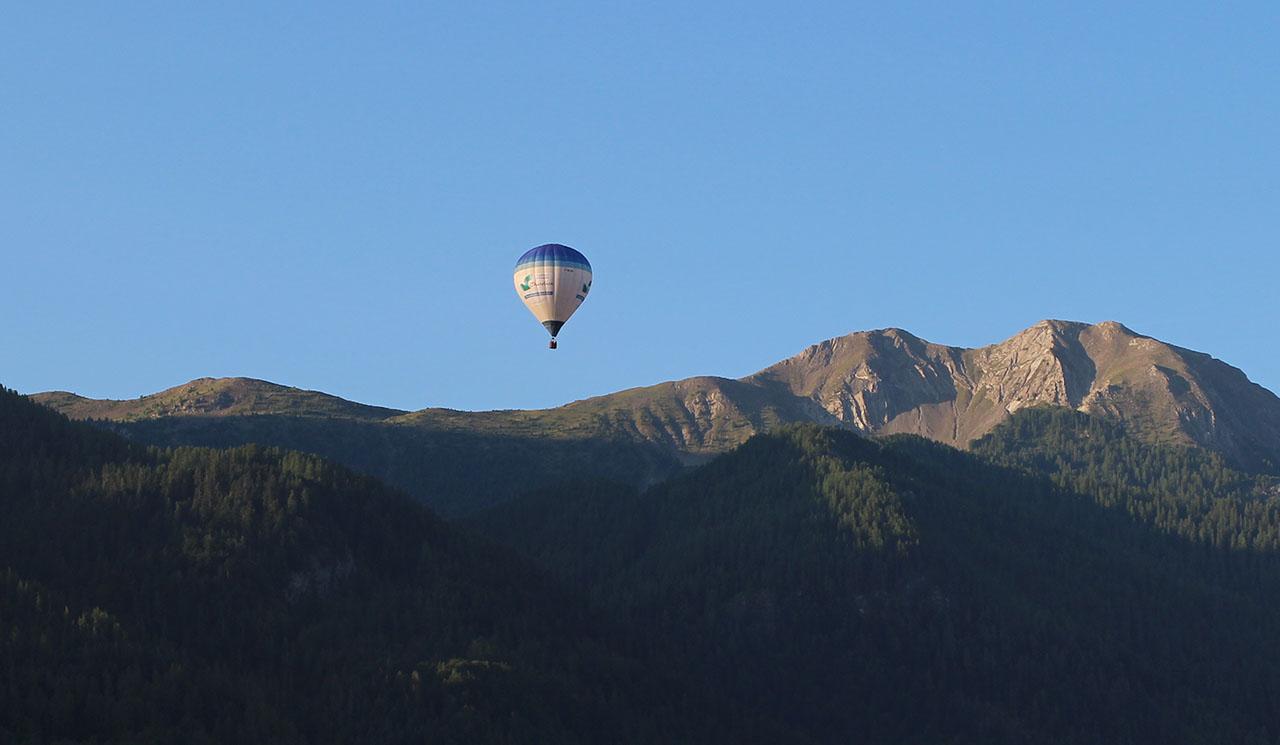 montgolfière hautes alpes