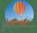 Hautes Alpes Montgolfière Logo