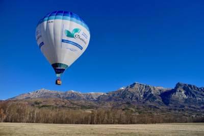 montgolfière vol champsaur