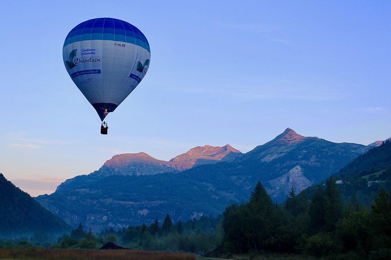 vol matinal montgolfière
